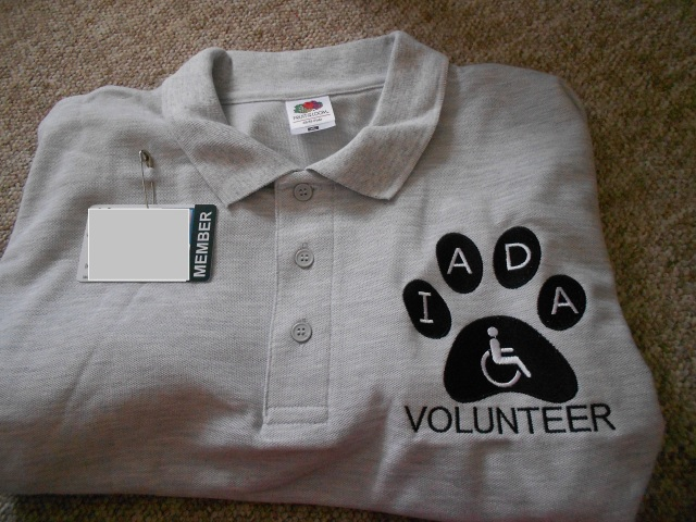 Example volunteer uniform shirt.