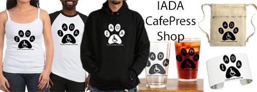 IADA cafepress banner